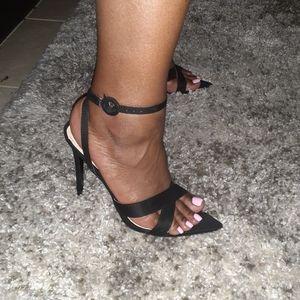 Fashion Nova strappy heels